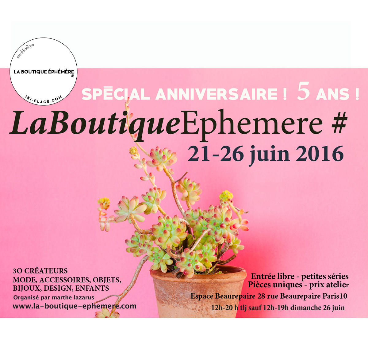 La Boutique Ephemere